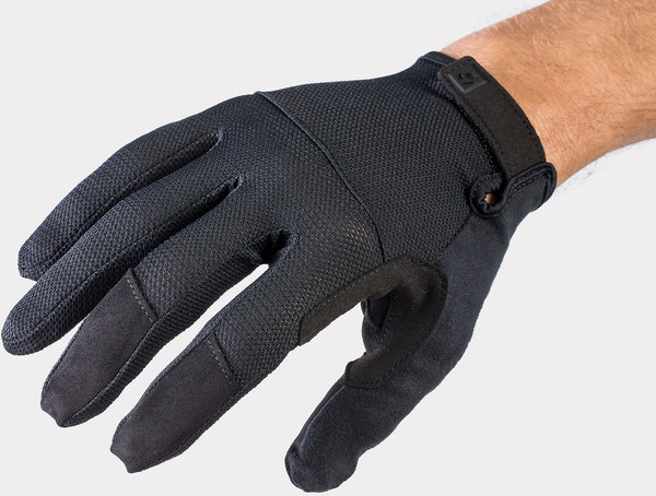 Bontrager Quantum Full Finger Cycling Glove Color: Black