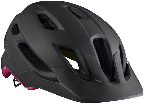 Bontrager Quantum MIPS Women's Bike Helmet Color: Black/Vice Pink