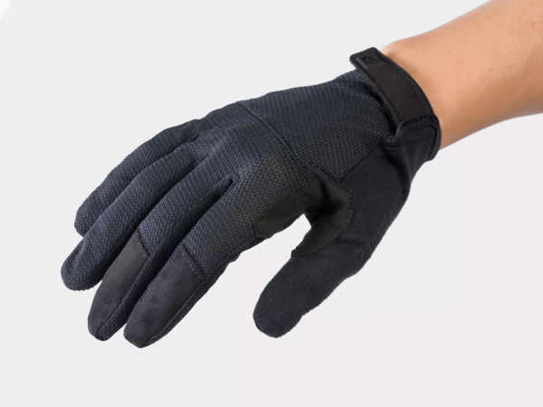 Bontrager Quantum Women's Full Finger Cycling Glove Color: Black