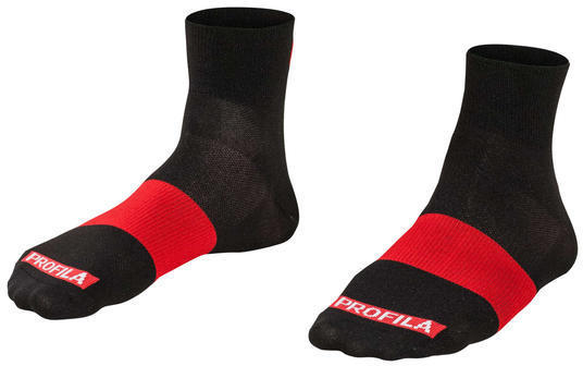 "Bontrager Race 1"" Cycling Sock Color: Black"