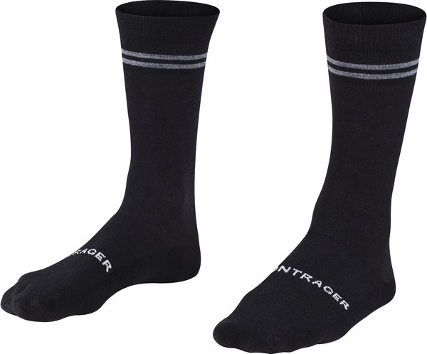 Bontrager Race Crew Thermal Wool Cycling Sock Color: Black