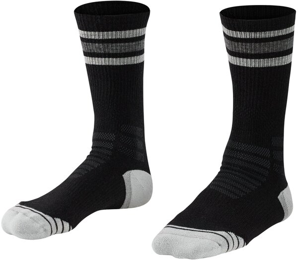 Bontrager Race Merino Wool Padded Crew Cycling Sock Color: Black