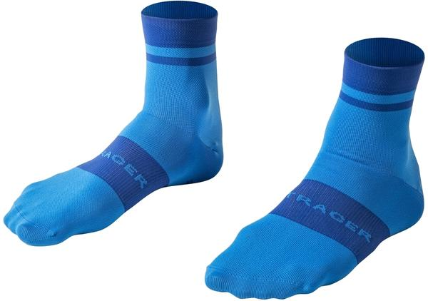 Bontrager Race Quarter Cycling Sock Color: Azure