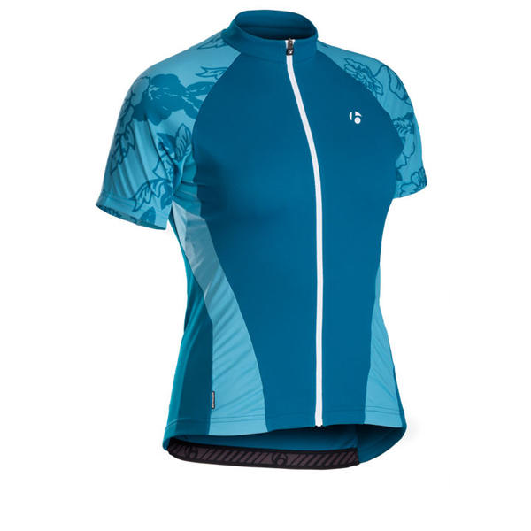 Bontrager Race WSD Short Sleeve Jersey - Women's Color: Blur Blue Floral