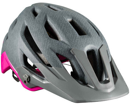 Bontrager Rally MIPS Women's Mountain Helmet Color: Heather Grey/Vice Pink