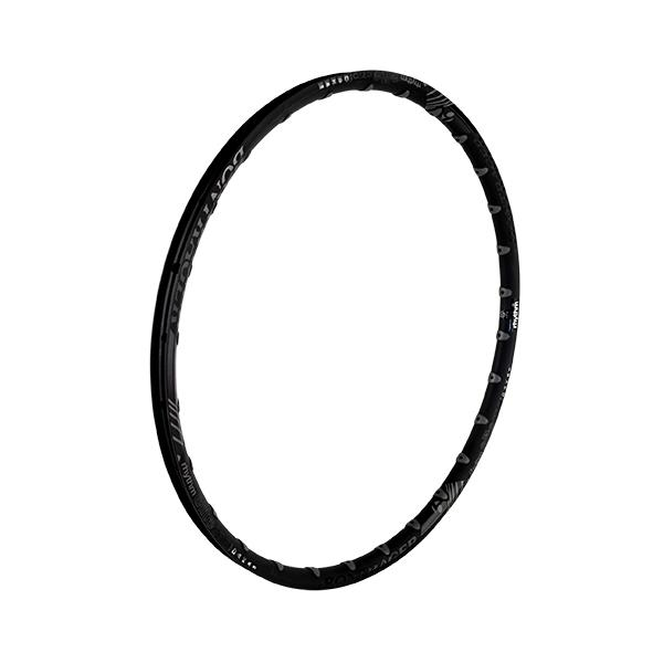 Bontrager Rhythm Elite Rim Color | Hole Count | Size: Black | 28 | 27.5-inch