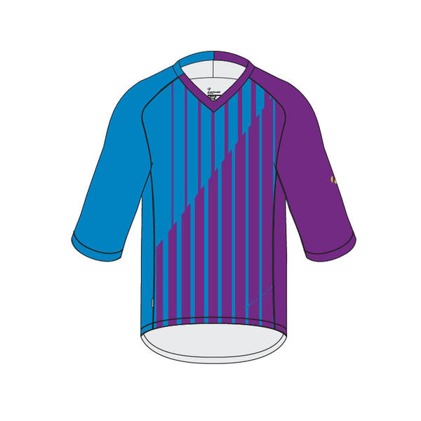 Bontrager Rhythm Tech T 3/4 Color: Lotus Stripe