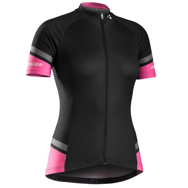 Bontrager RL WSD Short Sleeve Jersey - Women's Color: Black / Vice Pink