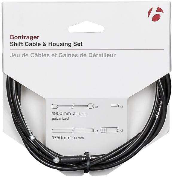 Bontrager Shift Cable & Housing Set Color: Black