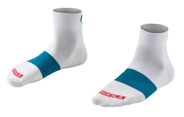 "Bontrager Race 1"" Cycling Sock Color: Maui Blue"