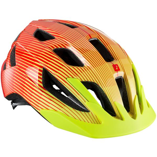 Bontrager Solstice MIPS Youth Bike Helmet Color | Size: Viper Red/Visibility Yellow | One Size