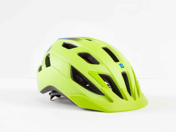 Bontrager Solstice MIPS Youth Bike Helmet Color | Size: Radioactive Yellow/Waterloo Blue | One Size