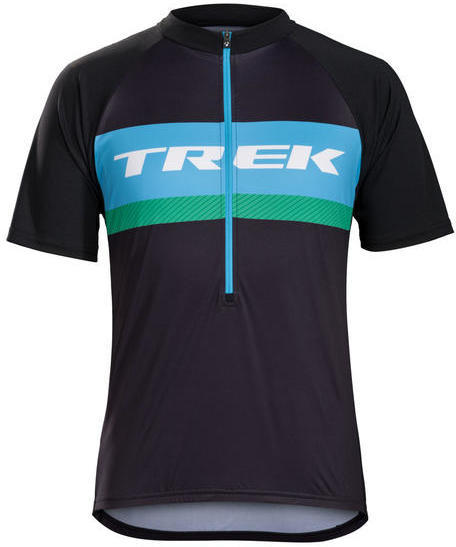Bontrager Solstice Cycling Jersey Color: Trek Blue Green