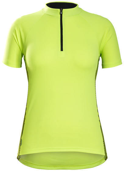 Bontrager Solstice Women's Cycling Jersey Color: Visibility Yellow
