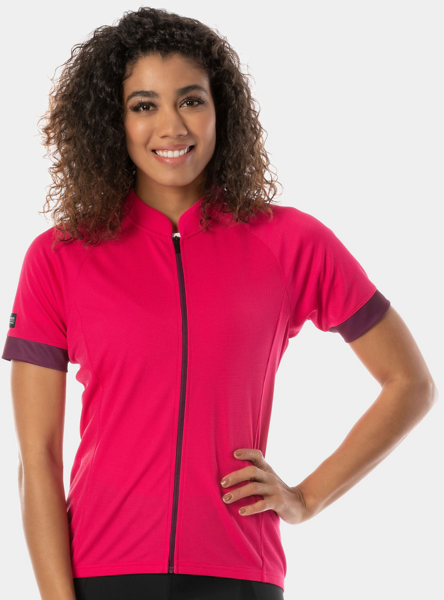 Bontrager Solstice Women's Cycling Jersey Color: Magenta