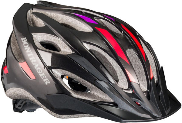 Bontrager Solstice WSD Color: Black/Rage Red/Hot Grape
