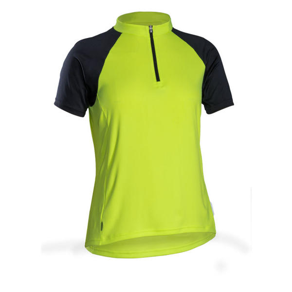 Bontrager Solstice Short Sleeve Women's Jersey Color: Visibility Yellow