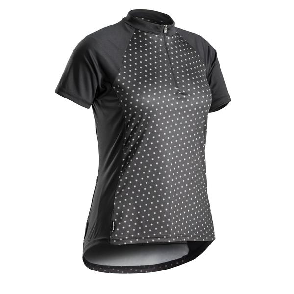 Bontrager Solstice Short Sleeve Women's Jersey Color: Black