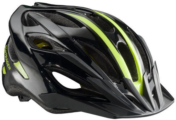 Bontrager Solstice Youth MIPS Color: Black/Visibility Yellow