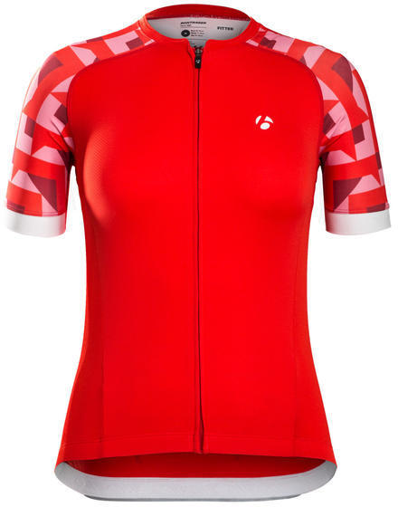 Bontrager Sonic Women's Jersey - Color: Viper Red