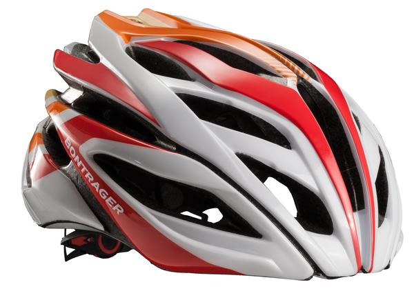 Bontrager Specter Helmet Color: White/Red/Orange