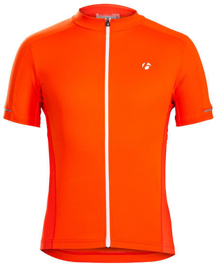 Bontrager Starvos Cycling Jersey Color: Tomato Orange