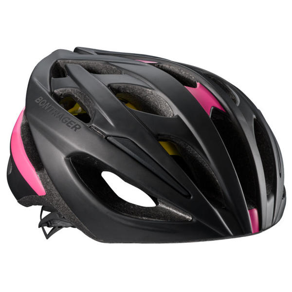 Bontrager Starvos MIPS Color: Black/Vice Pink