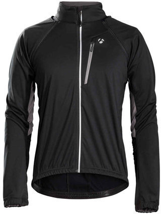 Bontrager Starvos S1 Softshell Convertible Jacket Color: Black