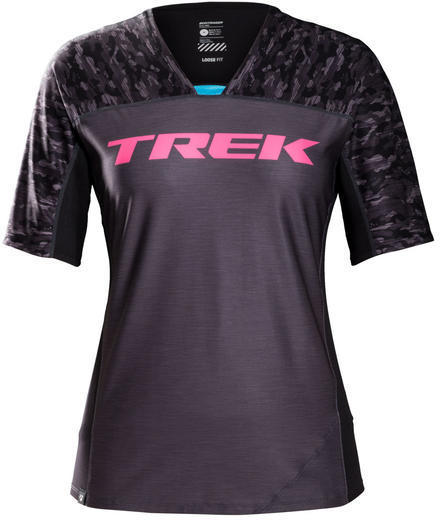Bontrager Tario Women's Mountain Bike Tech Tee Color: Trek Black