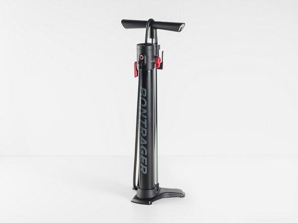 Bontrager TLR Flash Charger Floor Pump Color: Black