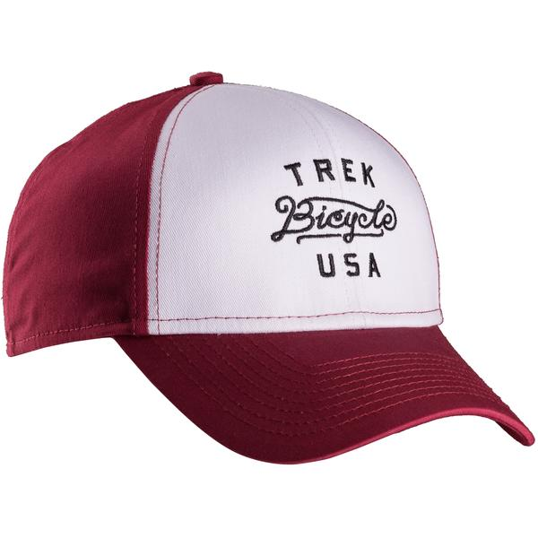Bontrager Trek Bicycles USA Cap Color: Maroon/White