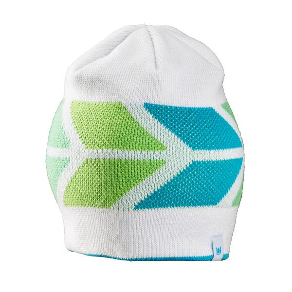 Bontrager Trek Chevron Women's Beanie Color: Cyan / Green