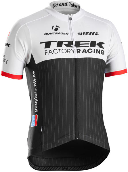 Bontrager TFR Replica Jersey Color: TFR Black