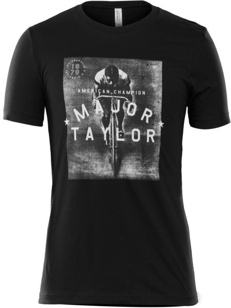 Bontrager Trek Major Taylor Graphic T-shirt Color: Black