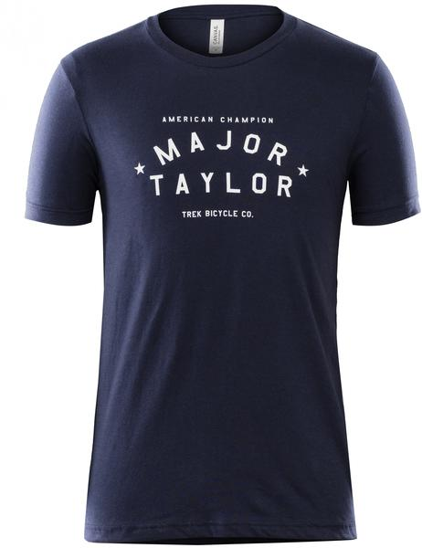 Bontrager Trek Major Taylor Script T-shirt Color: Navy