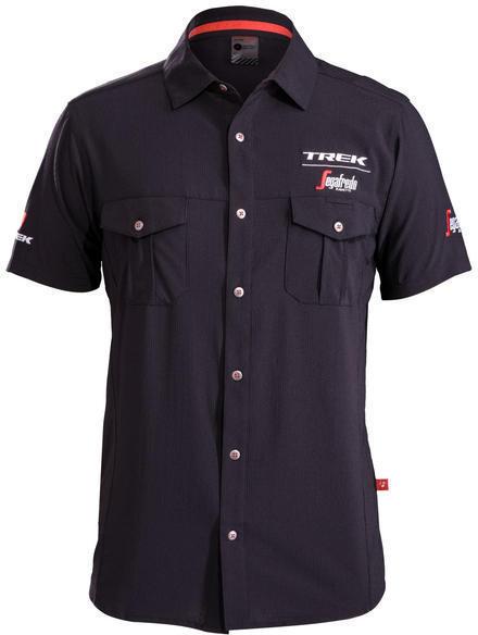 Bontrager Trek Segafredo Woven Short Sleeve Shirt