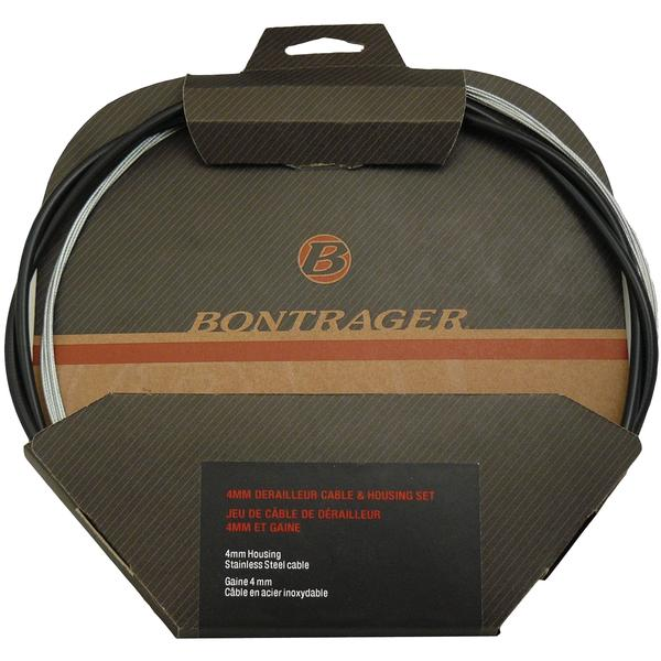 Bontrager Universal Brake Cable & Housing Kit Color | Model: Black | Stainless
