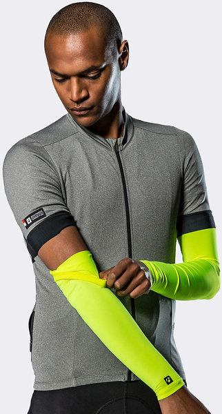 Bontrager UV Sunstop Cycling Arm Cover Color: Radioactive Yellow