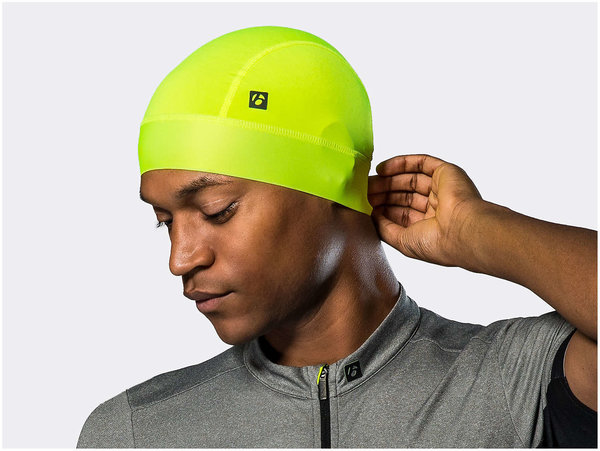 Bontrager UV Sunstop Cycling Skull Cap Color: Radioactive Yellow