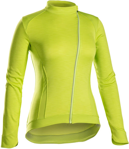 Bontrager Vella Thermal Long Sleeve Women's Jersey Color: Volt