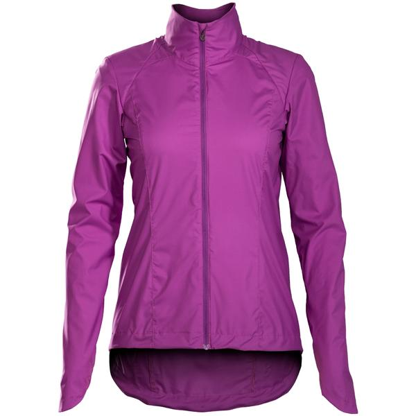 Bontrager Vella Windshell Women's Jacket Color: Purple Lotus
