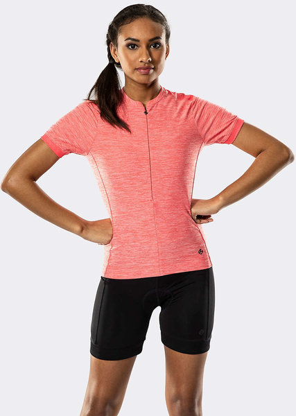 Bontrager Vella Women's Cycling Jersey Color: Infrared