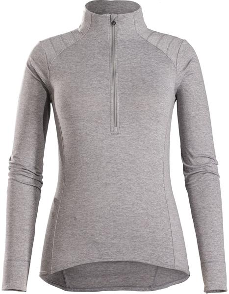 Bontrager Vella Women's Long Sleeve Thermal Cycling Jersey Color: Anthracite