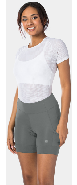 Bontrager Vella Women's Spin Short Color: Dnister Black