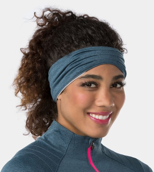 Bontrager Vella Women's Thermal Headband Color: Battleship Blue