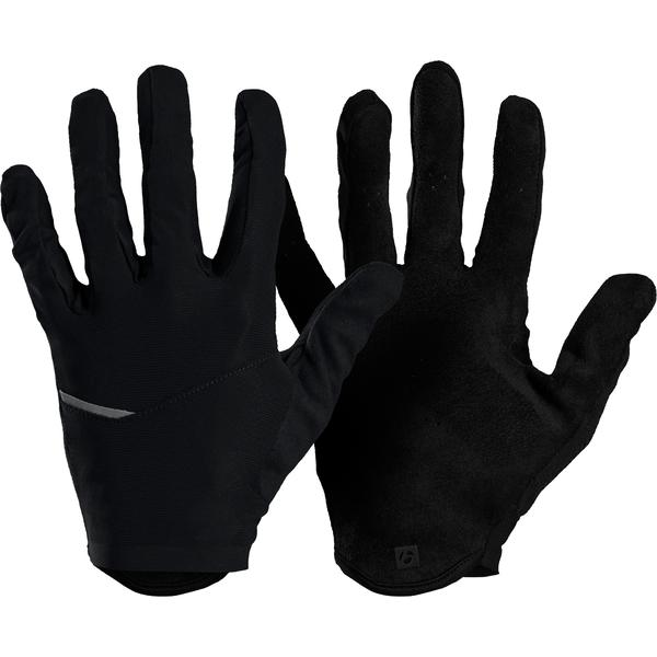 Bontrager Velocis Full Finger Cycling Glove Color: Black