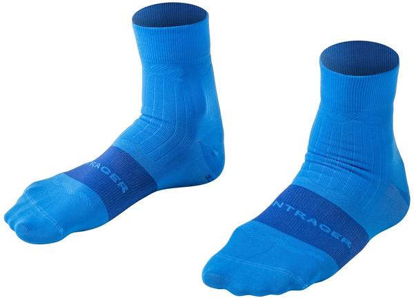 Bontrager Velocis Quarter Cycling Sock Color: Azure