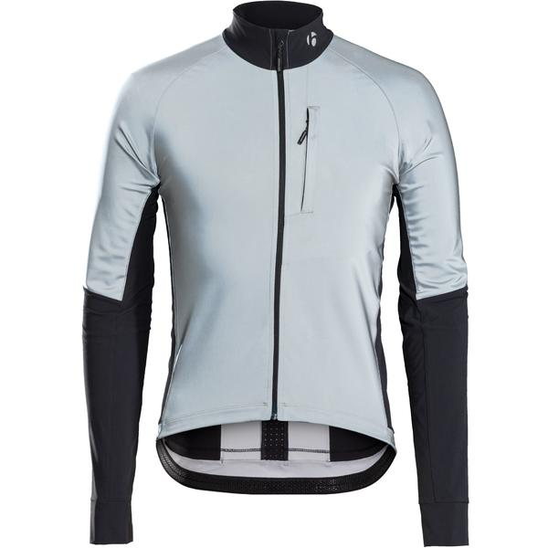 Bontrager Velocis Reflective Windshell Jacket Color: Black/Reflective