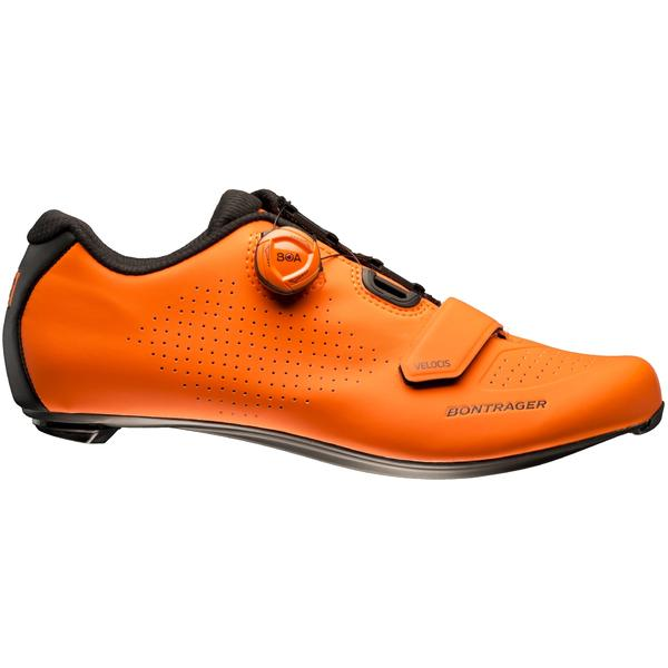 Bontrager Velocis Road Shoe Color: Radioactive Orange