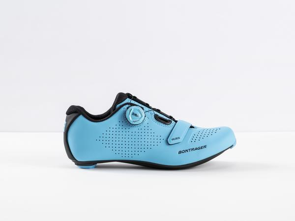 Bontrager Velocis Road Shoe Color: California Sky Blue